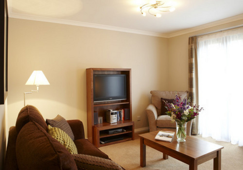 Lounge area  - Two bedroom comfort apartment at The Knight Residence, Edinburgh