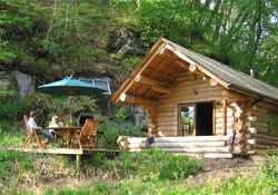 2826 - Shank Wood Log Cabin is situated amongst 140 acres of picturesque privately owned ancient woodland sited in the middle of a 2 mile beat of the River Lyne, close to the Lake District. We offer the perfect log cabin holidays for either romantic getaways, family adventures or short breaks away with friends.