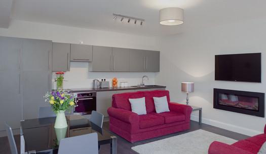 Northumberland Street  - Living room