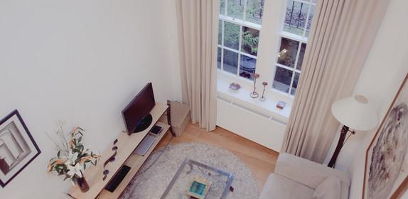 23b Drumsheugh Gardens  - Living room