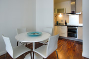 Discovery Dock Fully Equipped Kitchen Diner - Dining and Kitchen area complete the open and spacious apartments