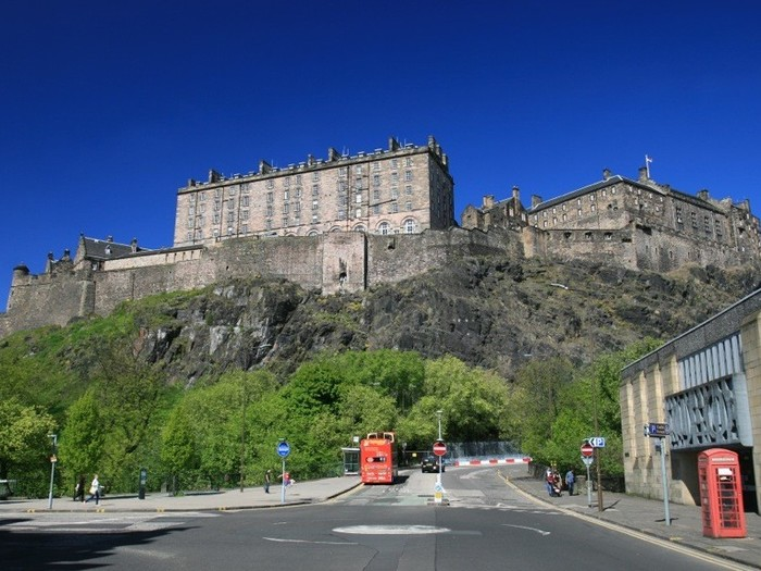 Spittal Street Edinburgh Castle View