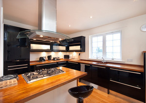 Picture of Ratcliffe Terrace Apartment Sleep 10, Lothian, Scotland - Large beautiful kitchen x