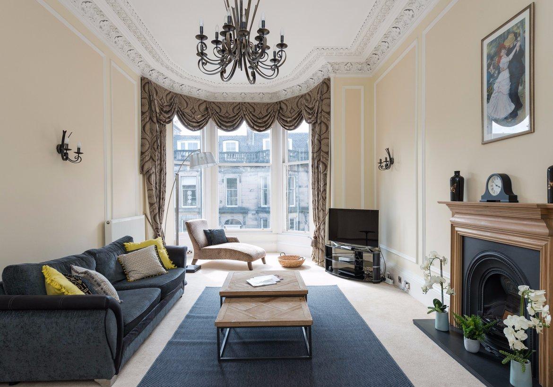 an edinburgh gem coates gardens 3 bedroom holiday rental