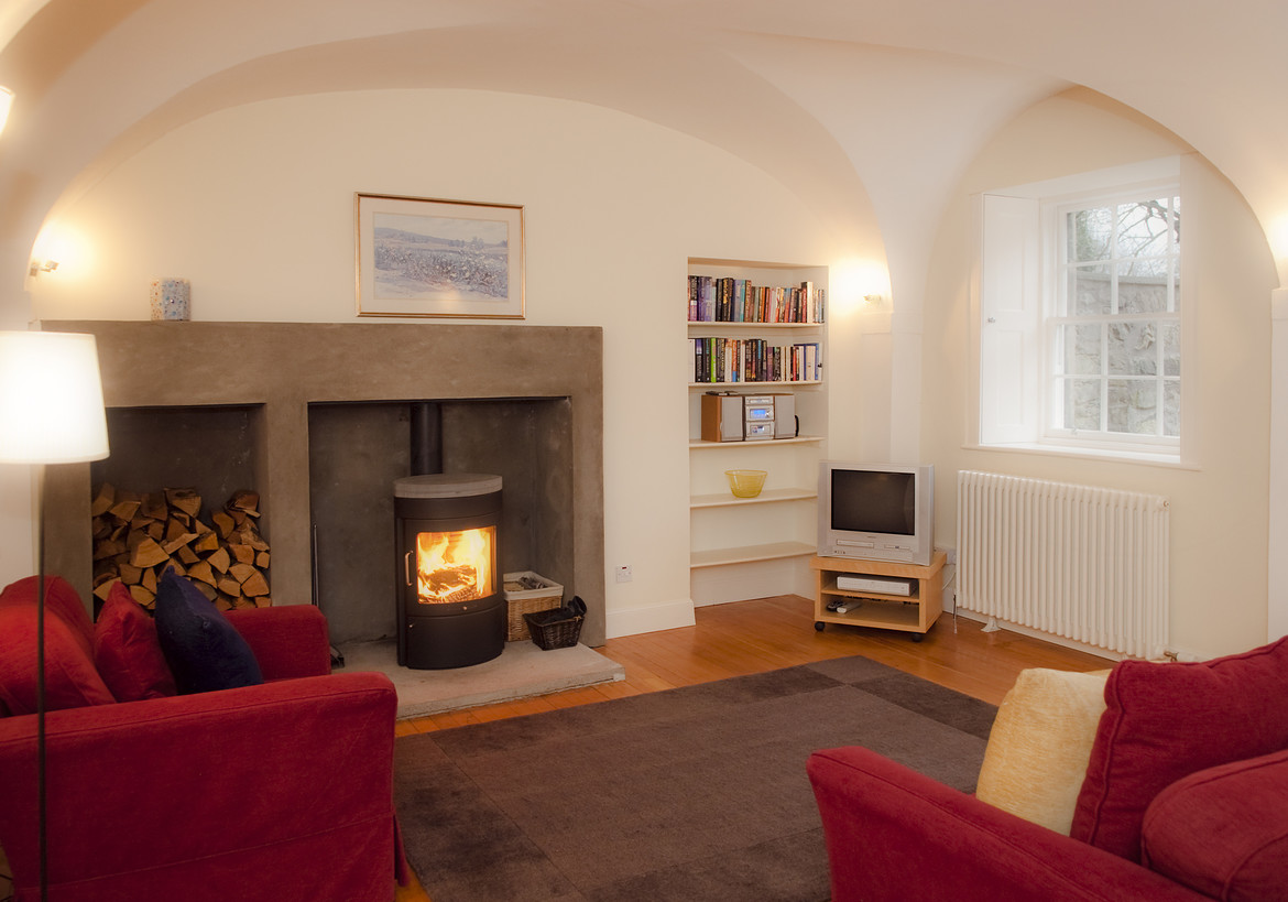 the old chapel george square 3 bedroom holiday rental sleeping