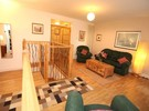 Picture of Niddry Street South 2, Old Town, 170 metres from Royal Mile, Lothian, Scotland - lounge and stairs down to bedroom