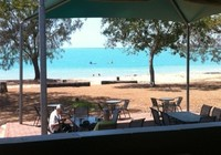 Beachfront Bar Dining View