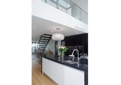 Designer Kitchen showing Mezzanine Area above