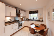 Kitchen - Large bright kitchen with seating for 4 guests