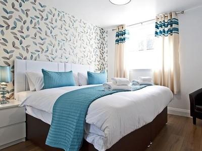 bedroom3_spring_gardens_edinburgh_square_property - Bedroom Spring Gardens Apartment Edinburgh by SQUARE Property (© SQUARE Property Edinburgh)