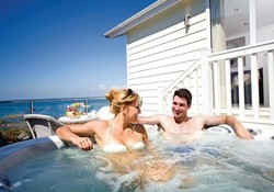 cairnwood premier at beach cove devon - lodge with hot tub devon