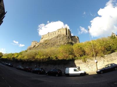 Edinburgh Castle view - Edinburgh Castle view, Chapel Wynd, Grassmarket, www.squareproperty.co.uk