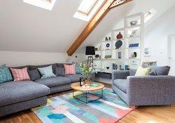 2. Living Area with Sky Windows