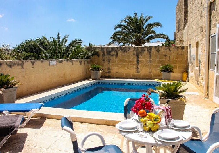 Villa in Gozo with a private pool
