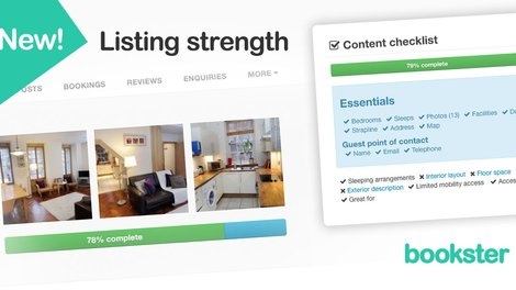 Property Listing Strength - Use the Property Listings Strength tool to increase self-catering bookings.