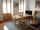 Riddles0007 - Family dining space in living space of luxury family holiday let