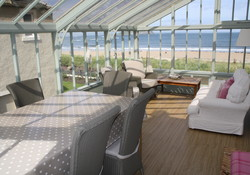 Beach front 3 bedroom self catering apartment