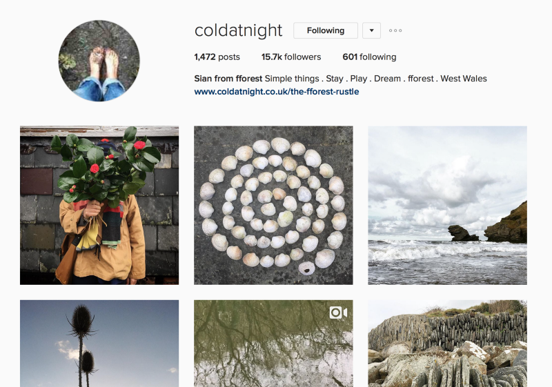 coldatnight_on_instagram-2 - Holiday rentals agency using instagram