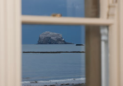 Bass rock view from Bonshaw