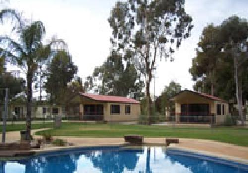 a shady river holiday park moama western nsw caravan. Black Bedroom Furniture Sets. Home Design Ideas