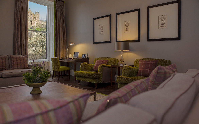 Self-catering apartments in Edinburgh near castle