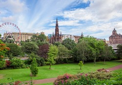 Princes Street Gardens and Scott Monument