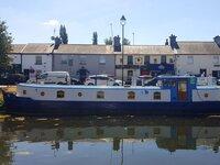 Roisin Dubh Houseboat Sallins
