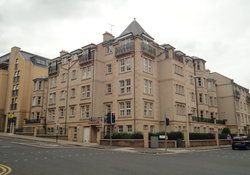Outside view of Ratcliffe Terrace Apartment