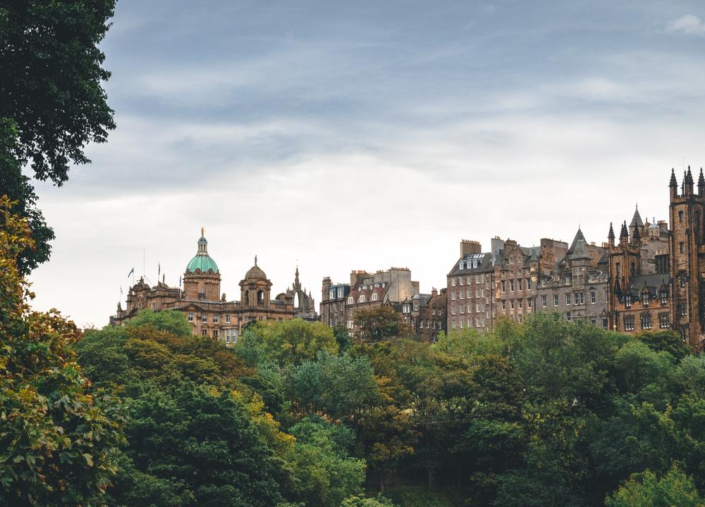Edinburgh in September