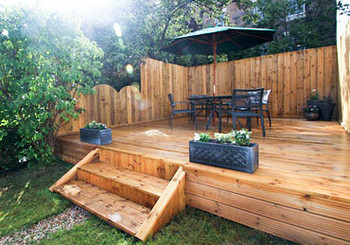 Private Garden & Decking
