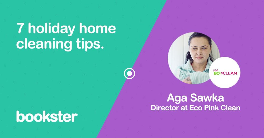 7 holiday home cleaning tips - Aga from Pink Eco Clean give us 7 top tips for a spotless clean of your holiday rental home