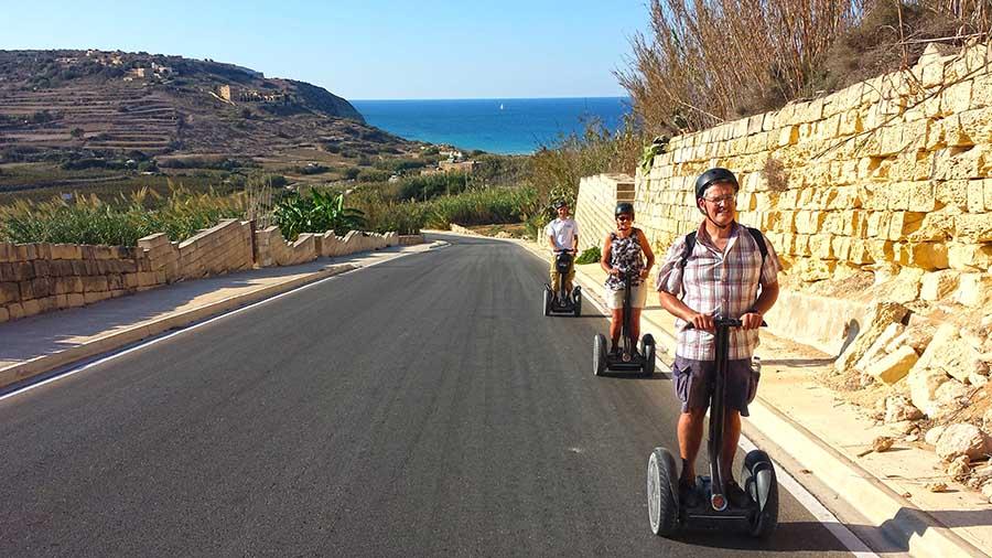 """Segway Around Gozo In Spring"""