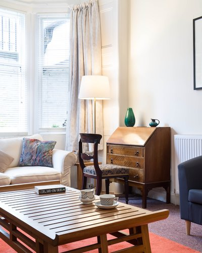 Montgomery Street Garden Flat - 2 Bedroom holiday apartment in Edinburgh city centre (© innerCityLets)