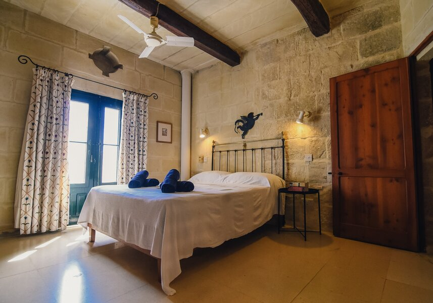 15. Main bedroom with ensuite overlooking garden and church views