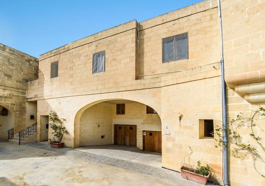 Gozo villa on the outside