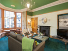 Haymarket Terrace 9 - Spacious family lounge with large bay window and traditional fireplace