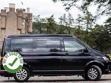 vw campervan hire Scotland