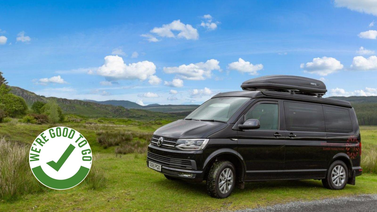 Bonnie the Campervan - Hire campervan Edinburgh - Explore Scotland with your own upgraded luxury Campervan