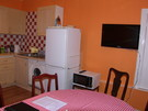 3 bed apartment - kitchen/dining room with TV
