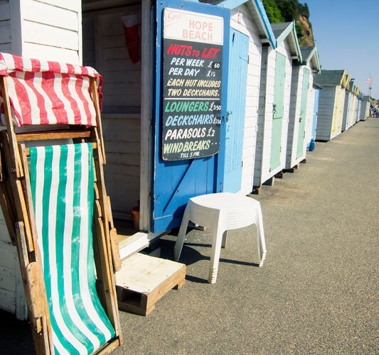 Beach Huts for Hire! - Shanklin - Wight Holiday Lettings - Beach Huts for Hire!