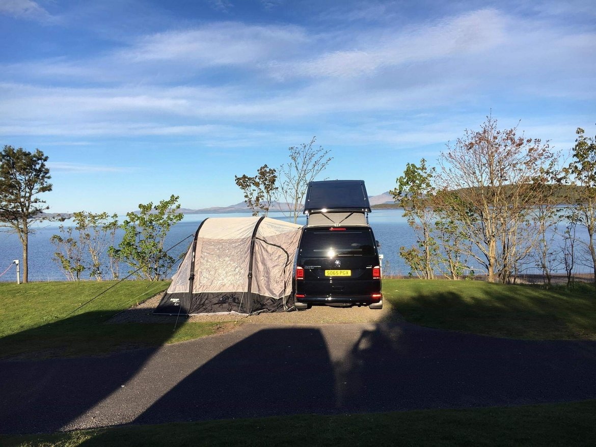 Bonnies Chronicles – Campervan Tails from the road - Camping 1