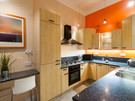 Haymarket Terrace 3 - Modern, fully furnished family kitchen in Edinburgh holiday let