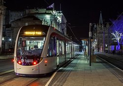 Edinburgh Trams.