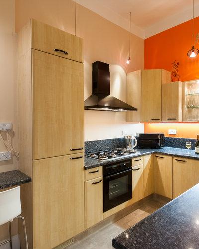 Haymarket Terrace 3 - Modern, fully furnished family kitchen in Edinburgh holiday let
