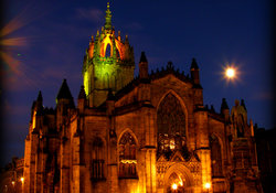 St Giles Cathedral.