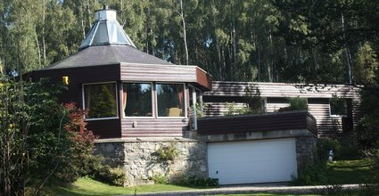 Spey Lodge - Secluded Home in the Cairngorms - Front of the property