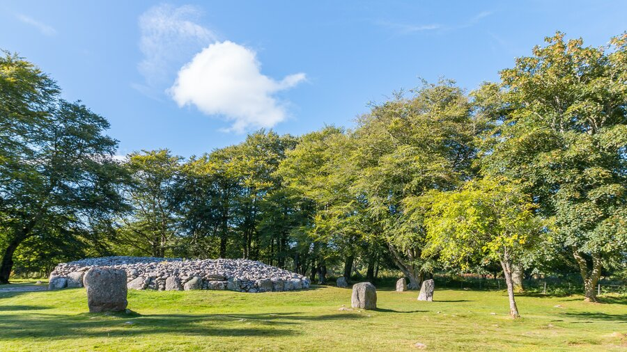 Clava Cairns - Clava Cairns just outside Inverness has a magical feel