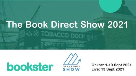 Bookster at The Book Direct Show 2021 - The team of Bookster participated in The Book Direct Show 2021. (© Jonathan Smith - thamespath @ Flikr)
