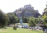 43.Local Area - Edinburgh Castle Princes Street Gardens