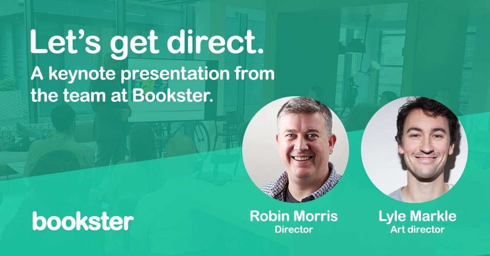 Let's Get Direct Vacation Rental Meetup Event - Event for Holiday Rentals experts with Bookster property management software